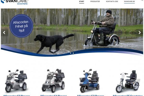 Svancare scooters